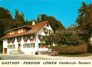 AK / Ansichtskarte Feldkirch_Vorarlberg Tosters Gasthof Pension Loewen Feldkirch Vorarlberg
