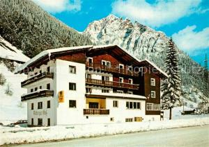 AK / Ansichtskarte Kloesterle_Vorarlberg Hotel Arlberger Hof Winter Kloesterle_Vorarlberg