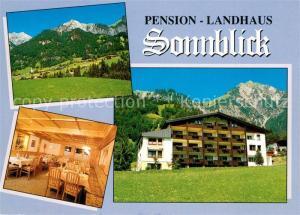 AK / Ansichtskarte Wald_Arlberg Pension Landhaus Sonnblick Wald Arlberg