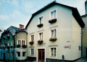 AK / Ansichtskarte Freistadt_Muehlviertel Gasthaus Wilder Mann Freistadt_Muehlviertel