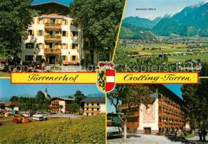 AK / Ansichtskarte Torren_Golling Torrenerhof Camping Dachstein Panorama Torren Golling