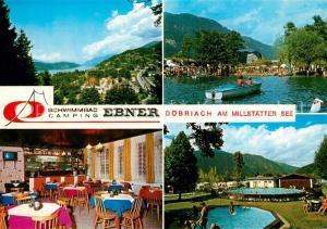 AK / Ansichtskarte Doebriach_Millstaettersee Schwimmbad Camping Ebner Doebriach_Millstaettersee