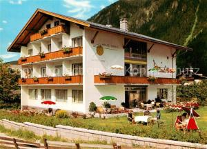 AK / Ansichtskarte Mayrhofen_Zillertal Hotel Pension Sonne Mayrhofen_Zillertal