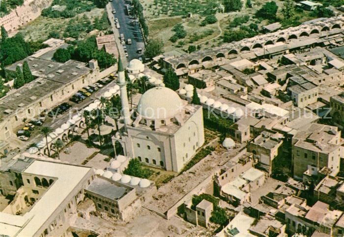 AK / Ansichtskarte Acre Fliegeraufnahme El Jazzars Mosque Acre 0