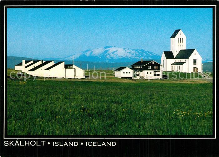 AK / Ansichtskarte Island Skalholt Island 0