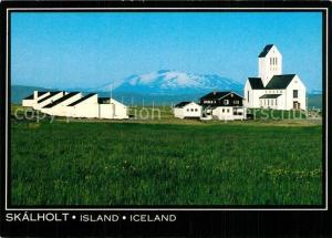 AK / Ansichtskarte Island Skalholt Island
