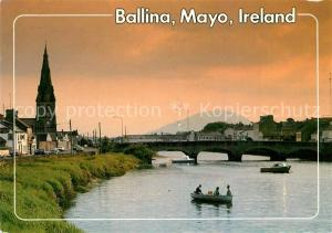 AK / Ansichtskarte Mayo_Irland Ballina Flusspartie Mayo_Irland