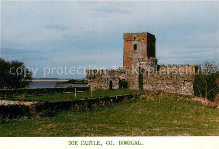 AK / Ansichtskarte Donegal_Ireland Doe Castle Donegal_Ireland 0