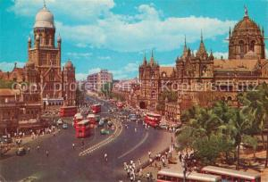 AK / Ansichtskarte Bombay_Mumbai Victoria Terminus Bombay Mumbai