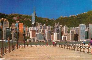 AK / Ansichtskarte Hong_Kong Waterfront Hong_Kong