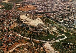 AK / Ansichtskarte Athenes_Athen Fliegeraufnahme Acropolis Athenes Athen