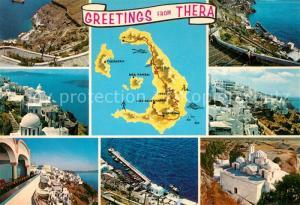 AK / Ansichtskarte Thera Santorin  Thera