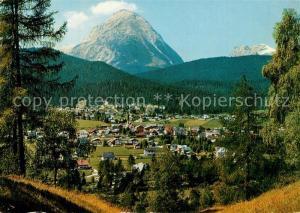 AK / Ansichtskarte Seefeld_Tirol mit Hohe Munde Seefeld Tirol