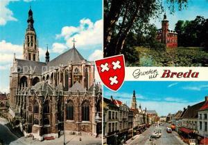 AK / Ansichtskarte Breda_Noord Brabant Kirche Breda Noord Brabant