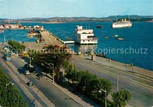 AK / Ansichtskarte Santander Bahia y Puertochico Santander