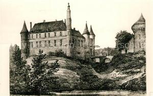 AK / Ansichtskarte Courtenay_Loiret Vue de l'Ancien Chateau des Princes de Courtenay Courtenay Loiret