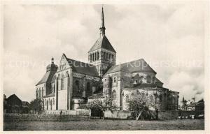 AK / Ansichtskarte Saint Benoit sur Loire Eglise de l'ancienne Abbaye  Saint Benoit sur Loire