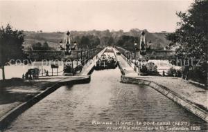 AK / Ansichtskarte Briare le Canal Le Pont Canal