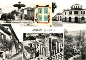 AK / Ansichtskarte Ambert Vue partielle Ambert