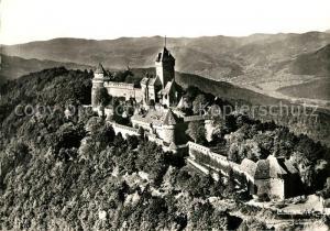AK / Ansichtskarte Haut Koenigsbourg_Hohkoenigsburg Le Chateau du Haut Koenigsbourg Vue aerienne Haut Koenigsbourg