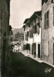 AK / Ansichtskarte Saint Jean Pied de Port Vieilles maisons basques de la Rue de la Citadelle Saint Jean Pied de Port
