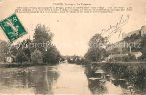 AK / Ansichtskarte Druyes les Belles Fontaines Le Ruisseau Druyes les Belles Fontaines