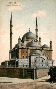 AK / Ansichtskarte Caire_Kairo Mosquee Mohamed Aly