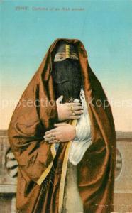 AK / Ansichtskarte Caire_Kairo Costume of an Arab woman