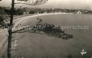 AK / Ansichtskarte Saint Cast le Guildo La grande plage vue generale prise de la Pointe de la Garde Saint Cast le Guildo