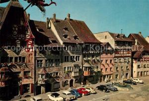AK / Ansichtskarte Stein_Rhein Haeuserfront am malerischen Rathausplatz Stein Rhein