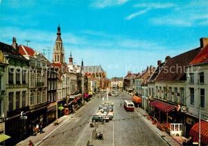 AK / Ansichtskarte Breda_Noord Brabant Grote Markt Breda Noord Brabant