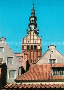 AK / Ansichtskarte Elblag Wieza gotyckiego kosciola sw Mikolaja Elblag