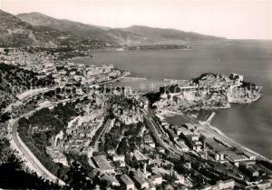 AK / Ansichtskarte Monte Carlo Fliegeraufnahme Monte Carlo Monte Carlo