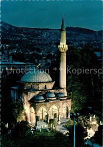 AK / Ansichtskarte Sarajevo Moschee Sarajevo