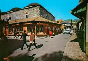 AK / Ansichtskarte Sarajevo Strassenpartie Sarajevo