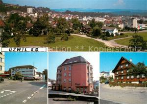 AK / Ansichtskarte Uzwil Panorama Teilansichten Uzwil