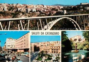 AK / Ansichtskarte Catanzaro Br?cke Schw?ne Catanzaro