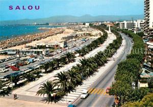 AK / Ansichtskarte Salou Promenade Strand Salou