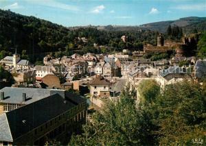 AK / Ansichtskarte La_Roche en Ardenne Panorama Chateau La_Roche en Ardenne