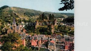 AK / Ansichtskarte La_Roche en Ardenne Panorama Eglise Chateau La_Roche en Ardenne