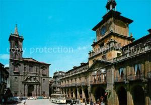 AK / Ansichtskarte Oviedo_Asturias Plaza Major Oviedo_Asturias