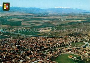 AK / Ansichtskarte Avila_Espana Vista aerea
