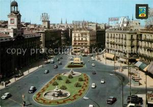 AK / Ansichtskarte Madrid_Spain Puerta del Sol Madrid Spain