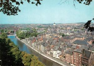 AK / Ansichtskarte Namur_sur_Meuse Panorama de la Vallee de la Sambre Namur_sur_Meuse