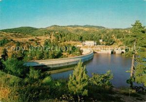 AK / Ansichtskarte Sila_Calabria Diga del Lago Cecita Staumauer