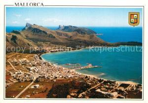 AK / Ansichtskarte Puerto_Pollensa Fliegeraufnahme Puerto_Pollensa