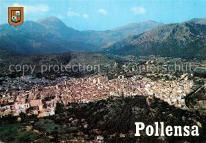 AK / Ansichtskarte Pollensa_Mallorca Vista aerea