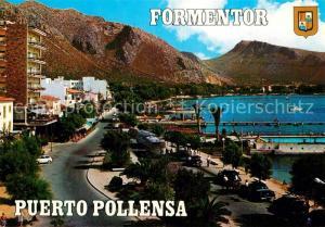 AK / Ansichtskarte Puerto_Pollensa Uferstrasse Hotels Puerto_Pollensa