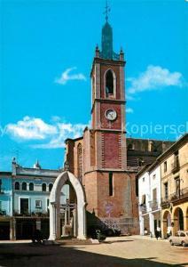 AK / Ansichtskarte Sagunto Plaza de los Martires e Iglesia Sagunto