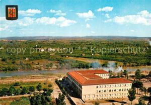 AK / Ansichtskarte Lleida Institut Riu Segre i Horta Fliegeraufnahme Lleida